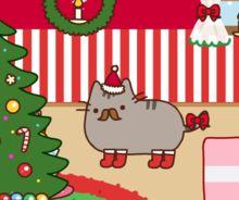Pusheen dressup Christmas